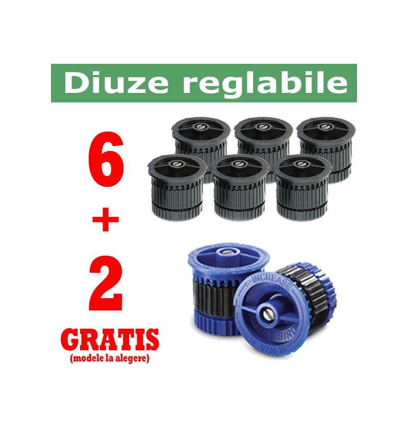 Kit Duze Reglabile Van (6 + 2 gratis)